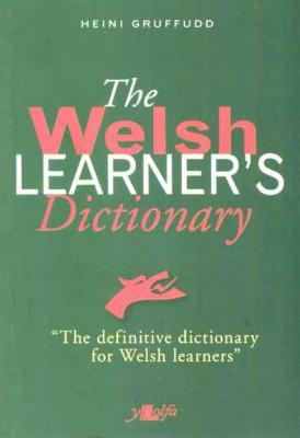 Llun o 'The Welsh Learner's Dictionary'