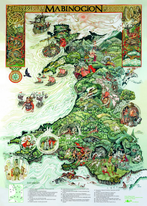 A picture of 'Poster y Mabinogion' 