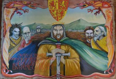 A picture of 'Poster Owain Glyndwr' 