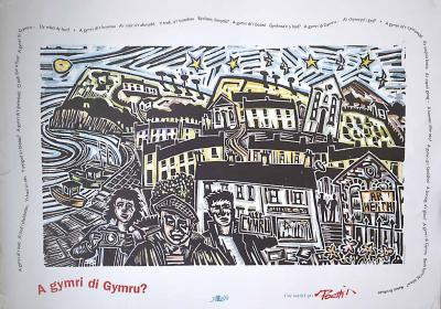 A picture of 'Poster A Gymri di Gymru' 