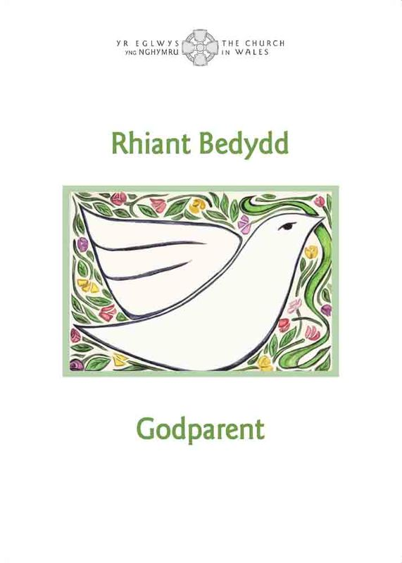 A picture of 'Tystysgrif Rhiant Bedydd / Godparent Certificate'