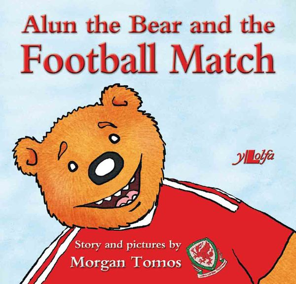 A picture of 'Alun the Bear and the Football Match'