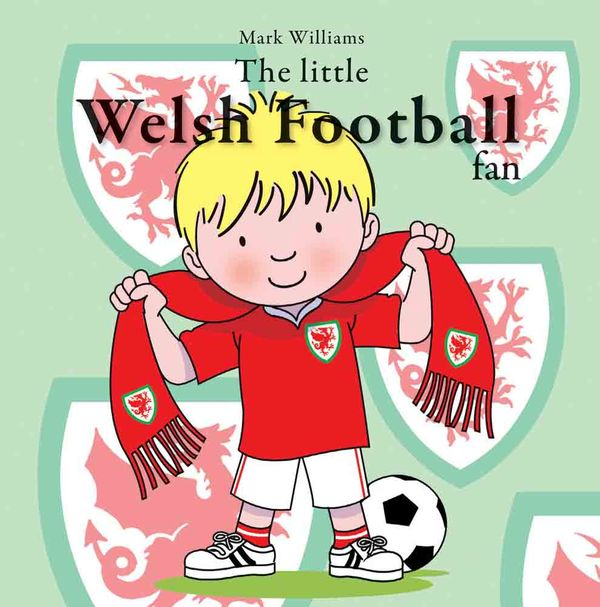 A picture of 'The little Welsh Football fan' 