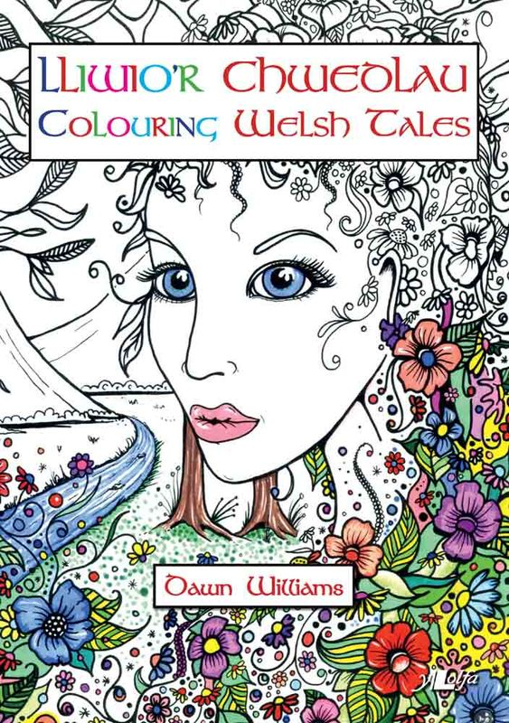 A picture of 'Lliwio'r Chwedlau / Colouring Welsh Tales' 