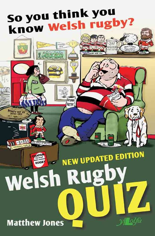 A picture of 'Welsh Rugby Quiz Book' 