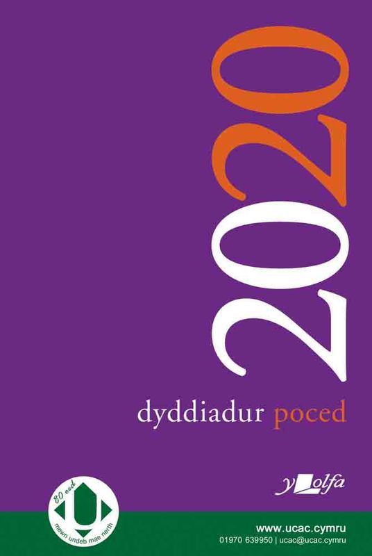 A picture of 'Dyddiadur Poced 2020 Pocket Diary'