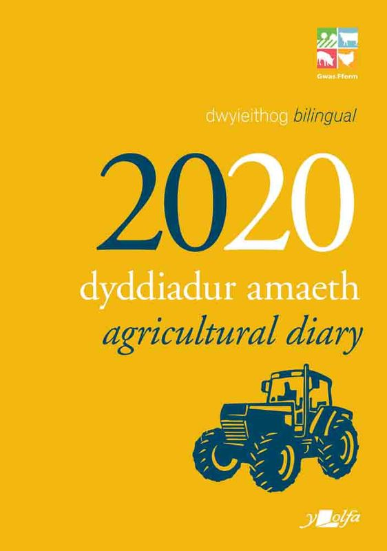 A picture of 'Dyddiadur Amaeth 2020 Agricultural Diary'