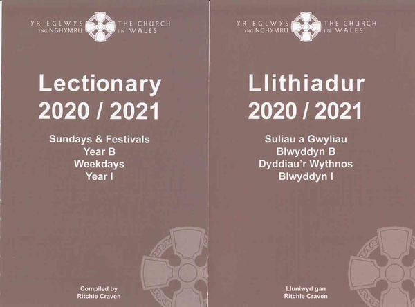 A picture of 'Llithiadur 2020-2021 / Lectionary 2020-2021'