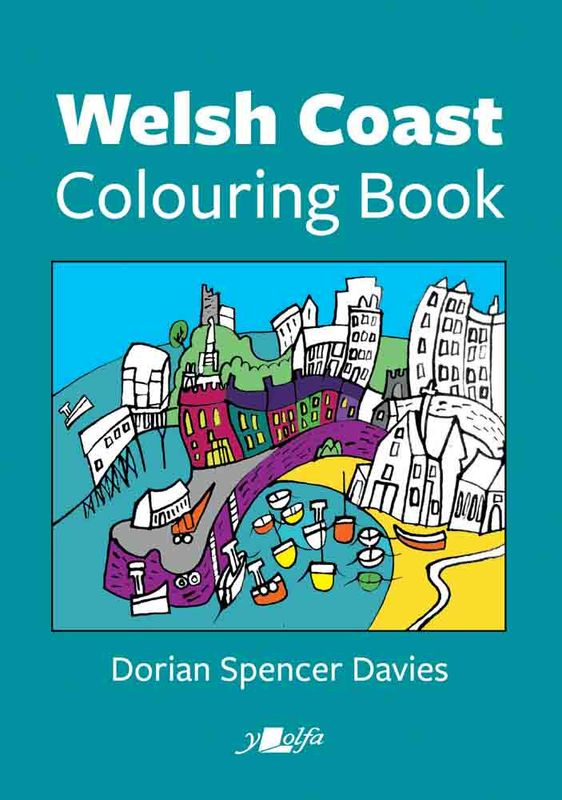 A picture of 'Welsh Coast Colouring Book' 