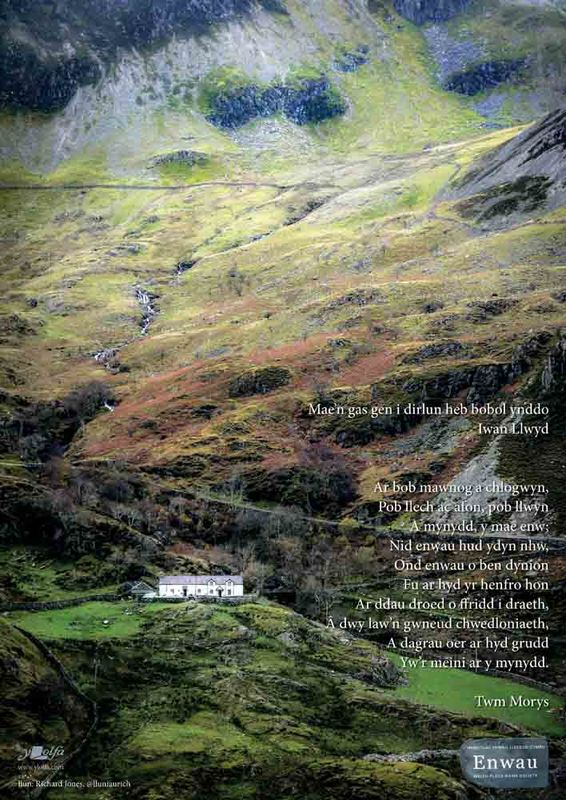 A picture of 'Poster Nant Ffrancon' 