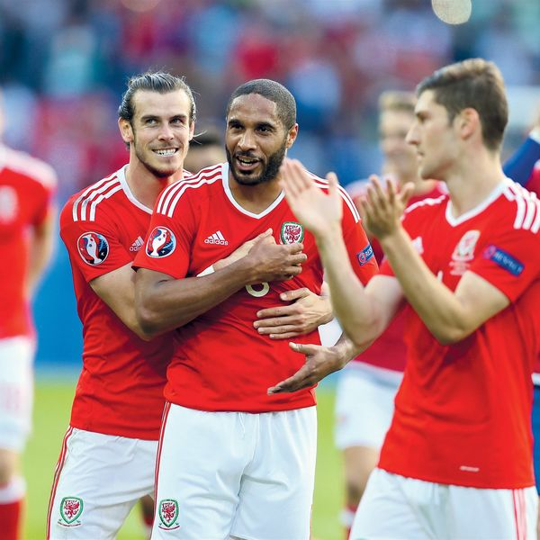 Wales football stars hail new book charting success