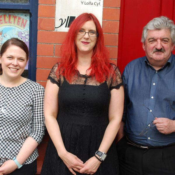 Y Lolfa publishers welcome three new staff members