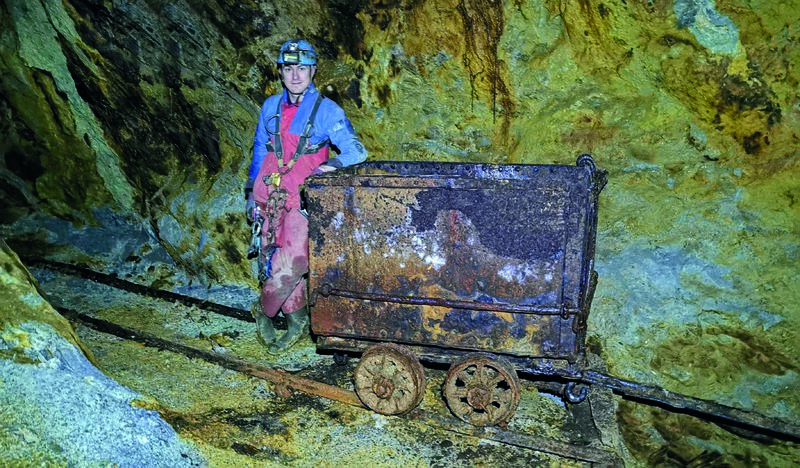 Young researcher reveals the secrets of ore industry in Mid Wales