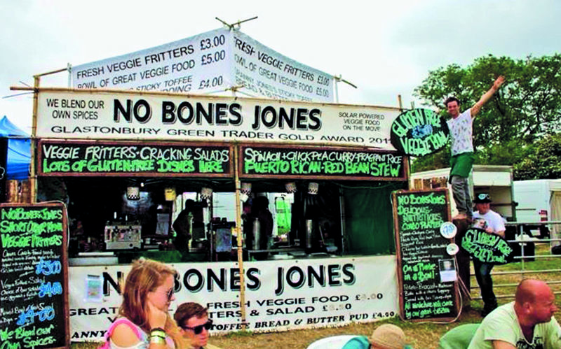 All aboard for the No Bones Jones veggie/vegan adventure
